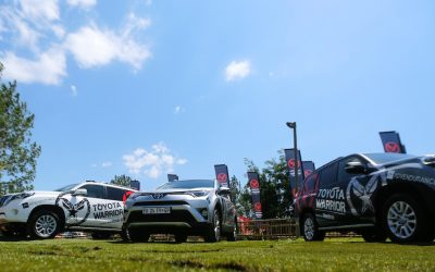 Press Release: Toyota New Title Sponsor Of Warrior Race