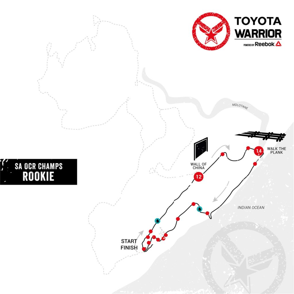 Toyota Warrior #4 Blythedale: Rookie Preliminary Route